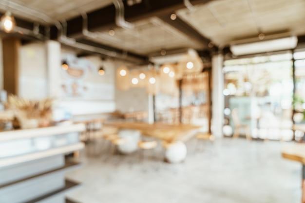Café ou café flou abstrait