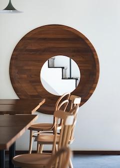 Café café intérieure simple concept