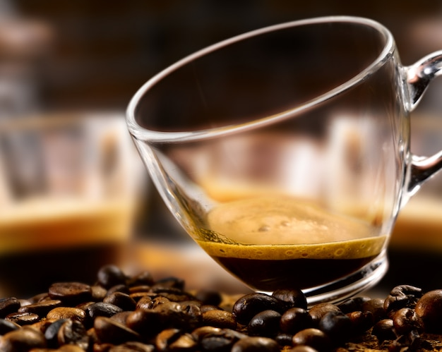 Café dans une tasse