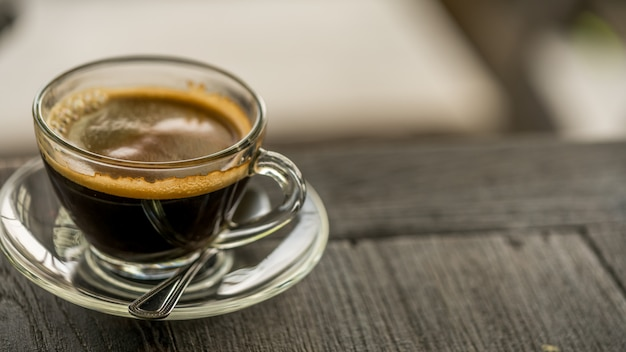 Café expresso chaud