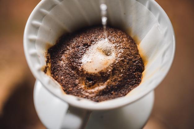 Café-faire du café à la machine à la maison