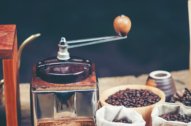 Café filtre au café, image de filtre vintage