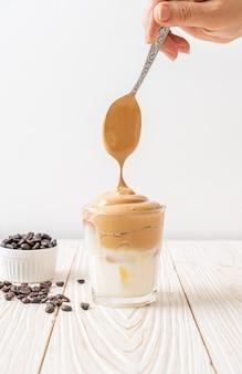 Café glacé dalgona