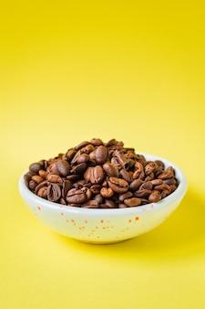 Café en grains d'arabica fraîchement torréfié ou mélange de robusta snack future drink