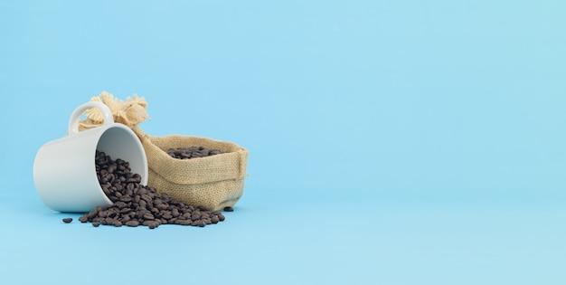 Café grains de café tasse de café boisson énergisante