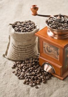 Café en grains et plus vert