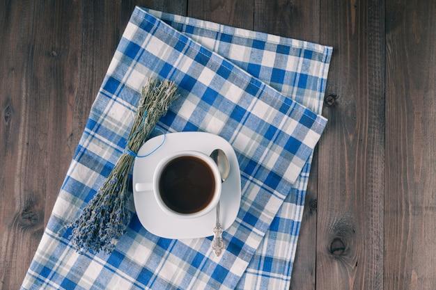 Café à la lavande