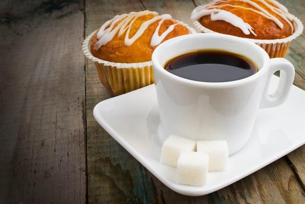 Café et muffin