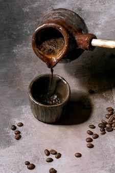 Café noir turc