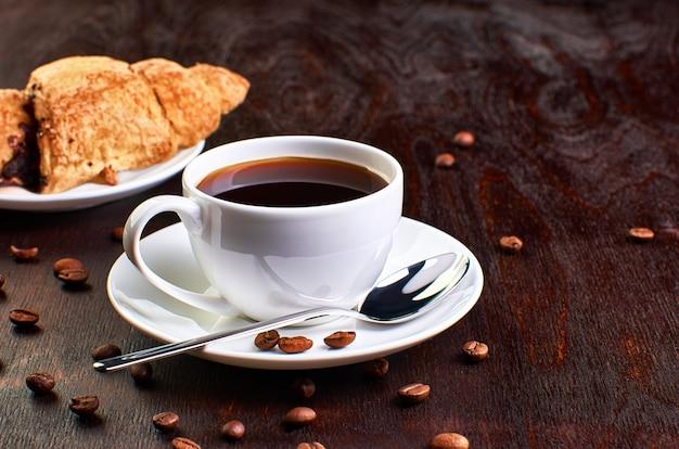 Café à l'obscurité
