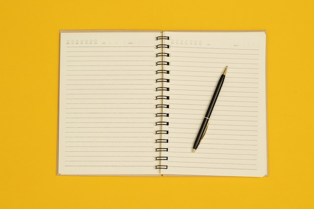 Les cahiers et les stylos sont utilisés dans la conception de diverses publications.