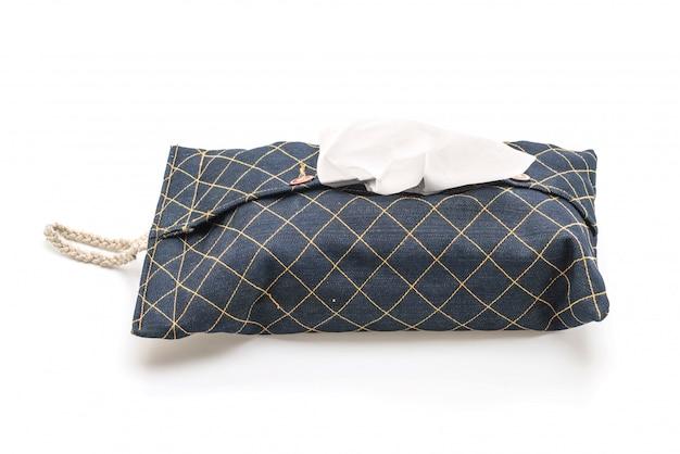 Caisse de tissu