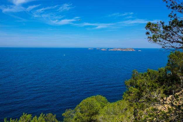 Cala vedella vadella ibiza île de la mer méditerranée