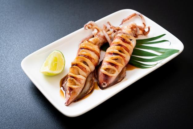Calamars grillés à la sauce teriyaki