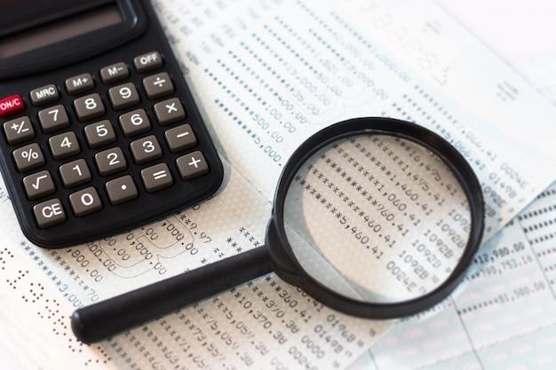 Calcul de comptabilité financière de bureau