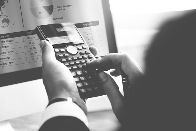 Calcul du solde comptabilité financière bénéfice concept de dette