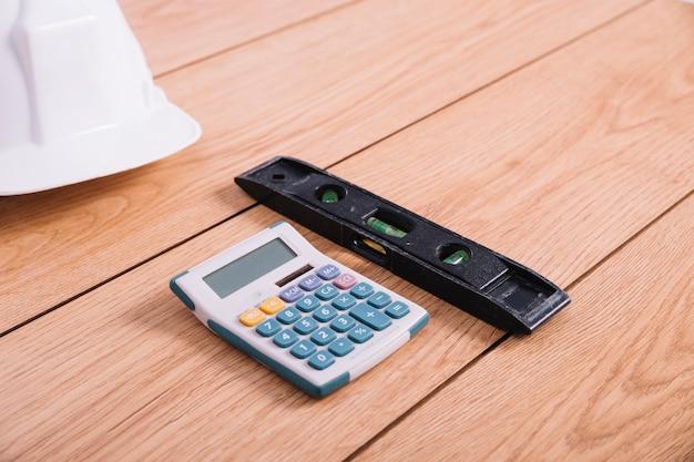 Calculateur de gros plan et niveau
