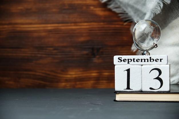 Calendrier du treizième jour du mois d'automne
