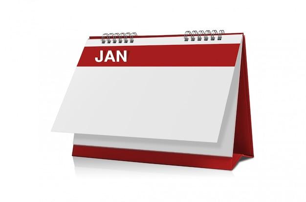 Calendrier de janvier