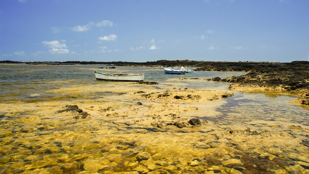 Caleton blanco orzola, lanzarote, îles canaries