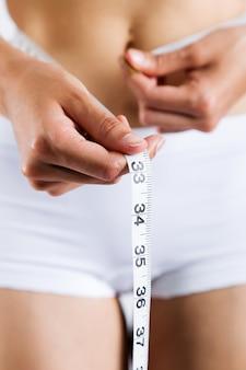 Calories soins beauté dame blanche