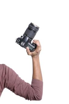 Caméra en main
