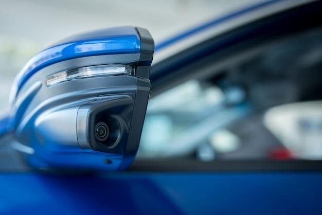 La caméra de rétroviseur gauche de la voiture, la caméra aide à trouver les angles morts, augmentant l'efficacité de voir la caméra de virage à gauche des voitures modernes.