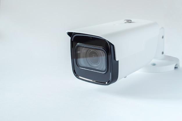 Caméra de surveillance en gros plan. système de sécurité.