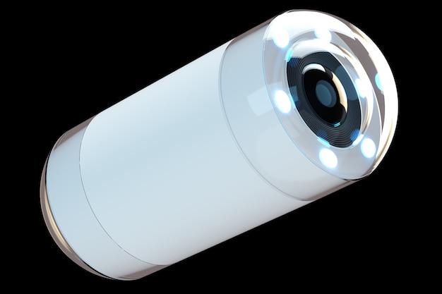 Caméra de taille capsule pour l'endoscopie
