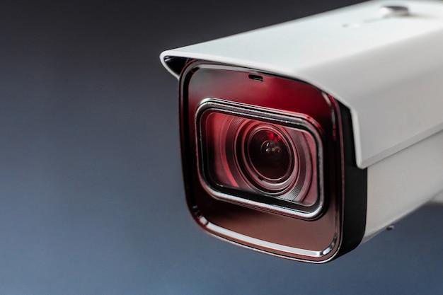 Caméra de vidéosurveillance. système de sécurité. caméra cctv