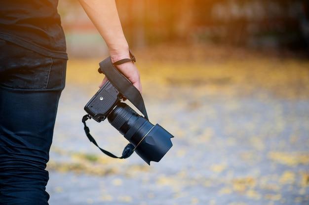 Caméras de voyage à main et caméra