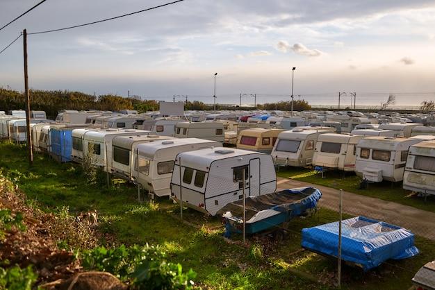 Camping ancien caravane. vente de camping d'occasion.
