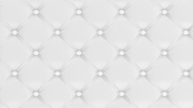 Canapé en cuir rendu 3d fond de texture