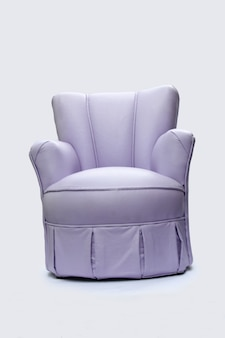 Canapé sur fond blanc