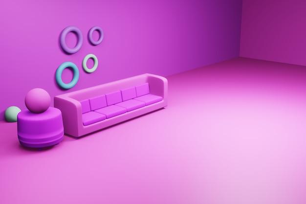 Canapé home element pour la conception de sites web