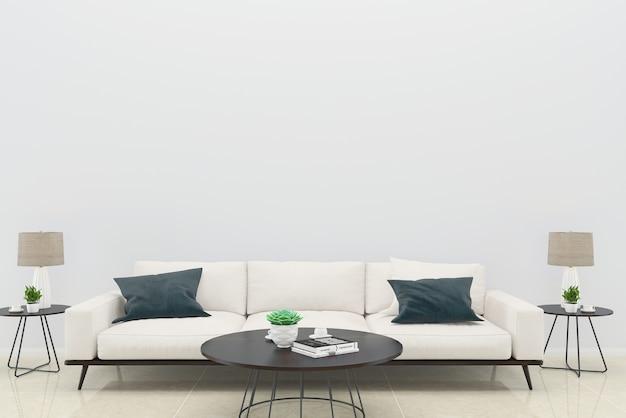 Canapé vert oreiller salon plancher de bois fond texture lampe cadre photo