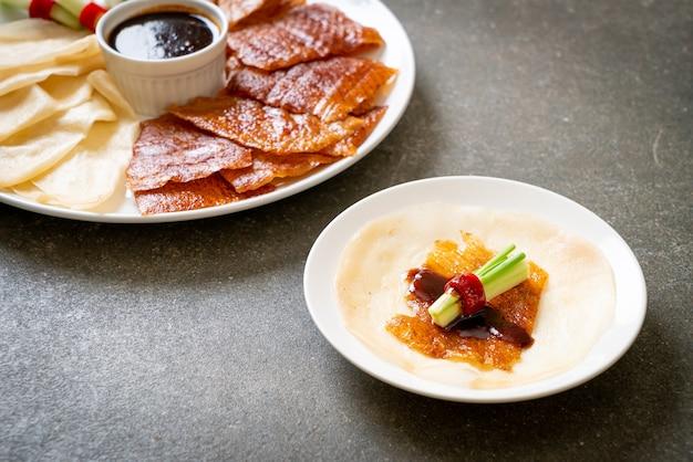 Canard laqué - style chinois