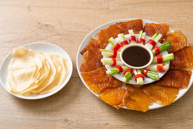Canard laqué - style cuisine chinoise