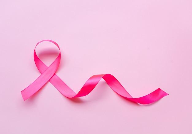 Cancer du sein au ruban rose