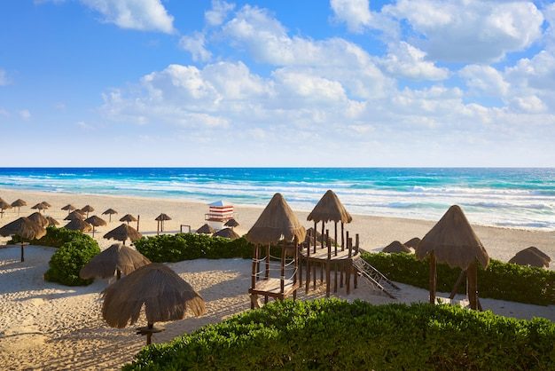 Cancun delfines beach zone hôtel mexico