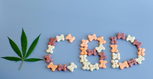 Le cannabis cbd se trouve dans les friandises pour chiens et chats