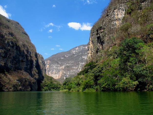 Le canyon de sumidero au mexique
