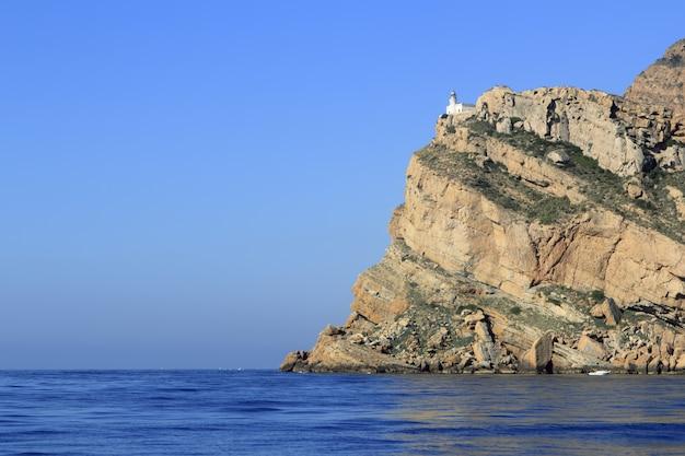 Cap punta albir près du phare d'altea