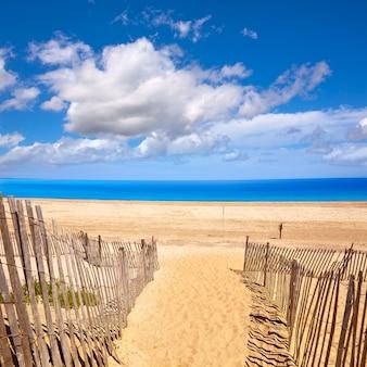 Cape cod sandy neck beach, massachusetts, états-unis