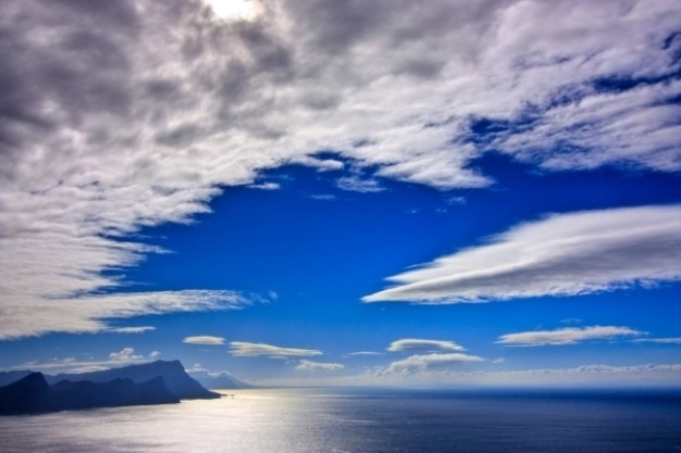Cape point paysage hdr