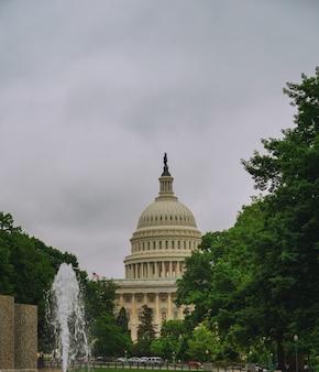 Capitole des états-unis avant le coucher du soleil, washington dc, états-unis.
