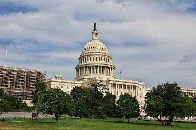 Capitole à washington, états-unis