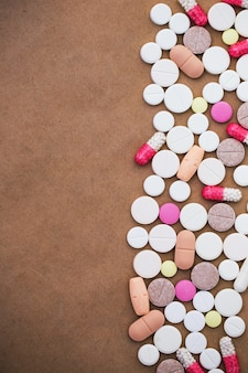 Capsule médicale ou pilule ou médicament.