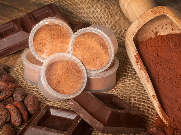 Capsules de chocolat