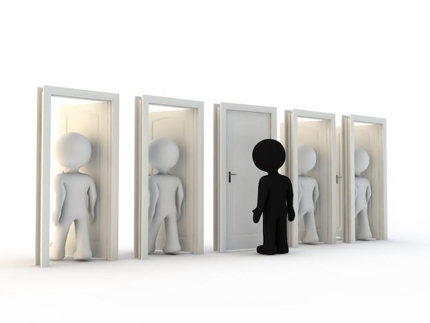 Caractère et discrimination
